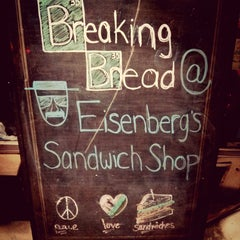 Photo taken at Eisenberg's Sandwich Shop by Chang on 10/21/2013
