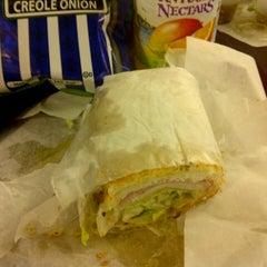 Photo taken at Potbelly Sandwich Shop by Tess on 1/16/2013