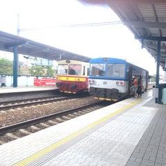 Photo taken at Železniční stanice Praha-Holešovice by Wahid A. on 6/14/2014