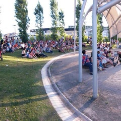 Photo taken at Parque de la Alegría by Marivi R. on 6/21/2014
