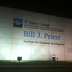 Photo taken at Bill J. Priest Institute for Economic Development by CHuck B. on 3/25/2013