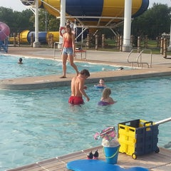 Photo taken at Earlywine Water Park by Tiffany B. on 7/22/2014