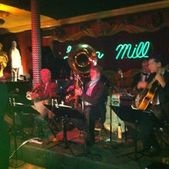 Photo taken at Green Mill Cocktail Lounge by Ana S. on 10/24/2012