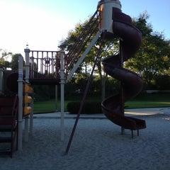 Photo taken at Christopher Park by Christopher V. on 8/8/2013