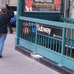 Photo taken at MTA Subway - 86th St (B/C) by Seb T. on 1/17/2013