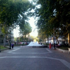 Photo taken at Paseo Bulnes by Estela P. on 2/27/2013