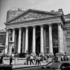 Photo taken at The Royal Exchange by Adam N. on 9/29/2012