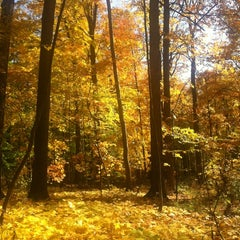 Photo taken at Hawk Island County Park by CW B. on 10/17/2012