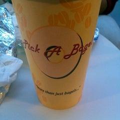 Photo taken at Pick A Bagel by Pedro P. on 10/13/2012
