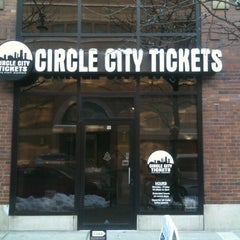 Photo taken at Circle City Tickets by Angelo P. on 12/30/2012