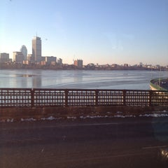 Photo taken at MBTA Red Line by ErinK W. on 1/7/2013