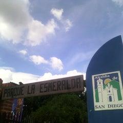 Photo taken at Parque Esmeralda by Fredrick M. on 11/23/2014