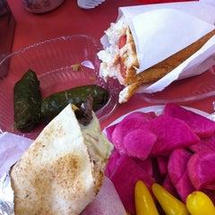 Photo taken at Falafel Arax by Asbed B. on 11/15/2012