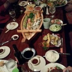 Photo taken at JoTo Thai-Sushi Tampa by Greg G. on 9/18/2014