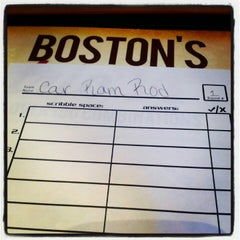 Photo taken at Boston's Restaurant & Sports Bar by Brittney L. on 10/24/2012