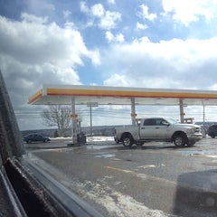 Photo taken at Shell by Dave K. on 2/28/2014