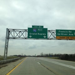 Photo taken at I-96 & I-69 by Dee S. on 11/5/2012