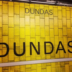 Photo taken at Dundas Subway Station by Dee S. on 5/31/2013