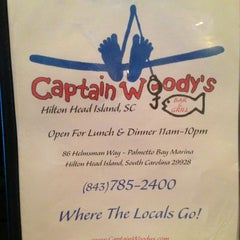 Photo taken at Captain Woody's by Janet C. on 1/25/2013