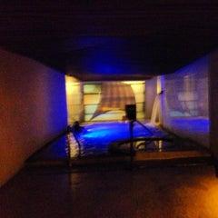 Photo taken at Scandinave Les Bains Vieux-Montréal by Michael S. on 10/25/2012