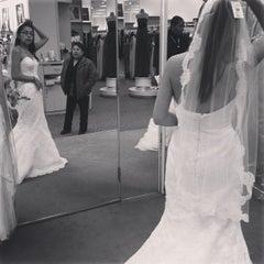 Photo taken at David's Bridal by Nadja M. on 3/14/2013
