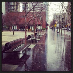 Photo taken at Jamison Square Park by Sarah P. on 12/20/2012