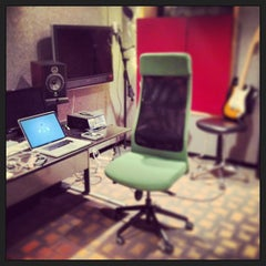 Photo taken at bass hit studios by Chris C. on 5/18/2013