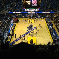 Photo taken at WVU Coliseum by Travis B. on 11/29/2012