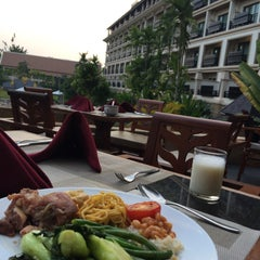 Photo taken at Angkor Miracle Resort & Spa by Tammy W. on 4/27/2015