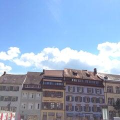 Photo taken at Augustinerplatz by Doro K. on 5/14/2014
