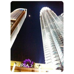 Photo taken at KLCC  Twin Tower by Winny M. on 9/2/2014