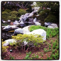 Photo taken at Japanese Friendship Garden by Jolie M. on 3/9/2013