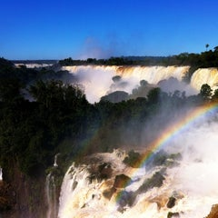Photo taken at Cataratas del Iguazú by Santiago C. on 7/2/2013
