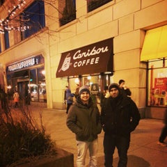 Photo taken at Caribou Coffee by Talal A. on 12/30/2012