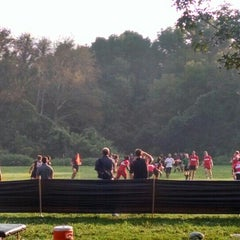 Photo taken at Cherokee Park Frisbee/Rugby Field by John O. on 9/4/2015