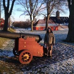 Photo taken at Kastellet Volden Ved Grønningen by Pedro S. on 1/20/2013
