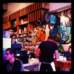 Photo taken at Pizzeria Delfina by Ron G. on 12/3/2012