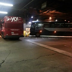 Photo taken at Greyhound Bus Lines by Brandon H. on 10/29/2012