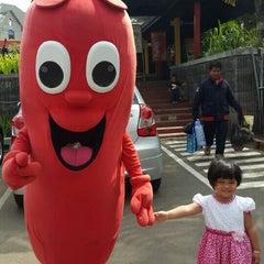 Photo taken at Rumah Sosis by Dian R. on 7/23/2015