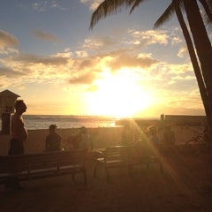 Photo taken at Kaimana Beach Park by Hawaii J. on 6/1/2015