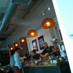 Photo taken at Panther Coffee by Angel L. on 7/1/2013