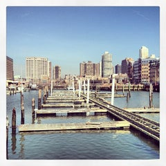 Photo taken at NY Waterway Ferry Terminal Liberty Harbor by Peter C. on 3/10/2013