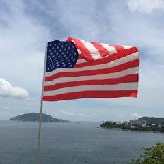 Photo taken at The American Club Hong Kong 美國會 by Jason O. on 7/4/2015