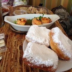 Photo taken at Bayou Bakery by Tiffany A. on 6/9/2013