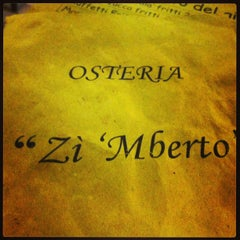 Photo taken at Osteria Zi' mberto by Noemi G. on 5/26/2013
