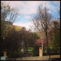 Photo taken at Parc Roger Salengro by Julien-David N. on 4/20/2013