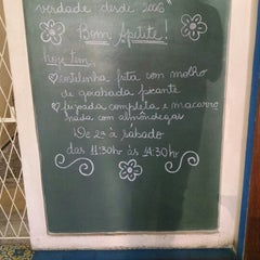 Photo taken at Restaurante Mina d'Água by Acton A. on 9/20/2014