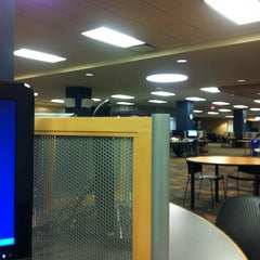Photo taken at William S. Carlson Library - UToledo by Yousif A. on 2/5/2013