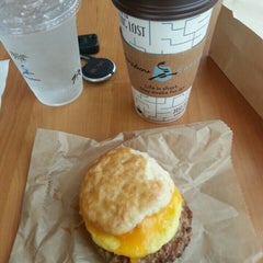 Photo taken at Caribou Coffee by Eli A. on 7/1/2015