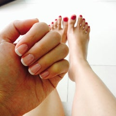 Photo taken at Nail Spa by Lovina T. on 2/1/2014